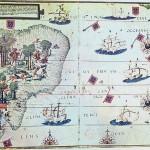 Brazil 16thc map Public Domain