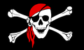 pirate_flag_skull_with_red_bandana SOURCE Public Domain