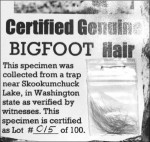Certified Bigfoot hair SOURCE The (Nacogdoches) Daily Sentinel