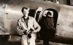 Amelia_Earhart_by_plane SOURCE Public Domain