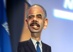 Eric Holder - CaricatureBy DonkeyHotey SOURCE Flickr Public Domain