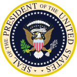Presidential Seal SOURCE Wikipedia Public Domain.