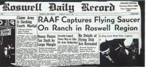 Roswell Original Press Release SOURCE Roswell Daily Record