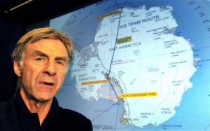 sir Ranulph Fiennes SOURCE Telegraph.co.UK