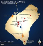 Map of Elephanta Caves CREDIT Daarznieks SOURCE Wikimedia Commons Public Domain