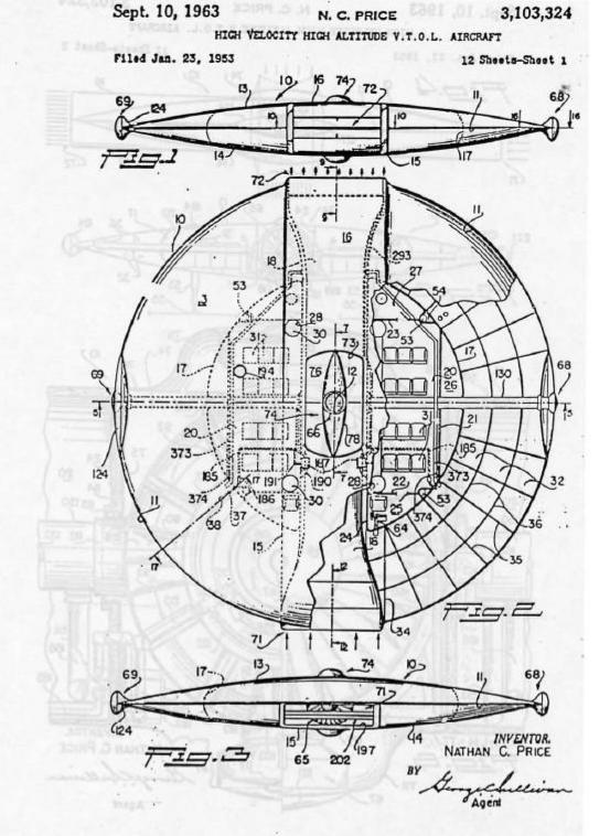 The New Hollow Earth Insider Ufo Shaped Craft Patent1