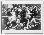 JFK motorcade, Dallis, Texas, Nov. 22,1963 SOURCE Library of Congress
