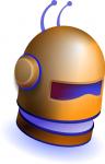 robot_helmet SOURCE wpclipart Public Domain
