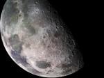 Closeup of the moon SOURCE NASA