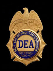 DEA Badge SOURCE DEA