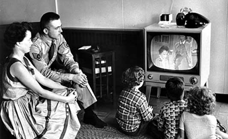 TV in the 50s SOURCE Library of Congress