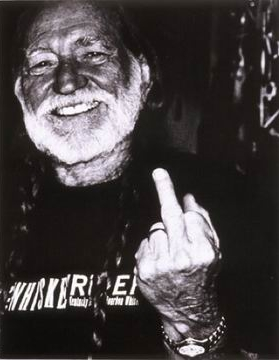 Willie Nelson SOURCE Unknown