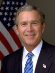 George-W-Bush. CREDIT White house photo by Eric Draper. (Public Domain)