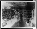 Pharmacist at People's Drug Store SOURCE Library of Congress Public Domain