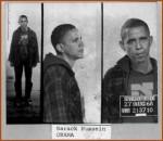 Obama Arrested  29 Aug 68 mug shot. CREDIT Chicago Police