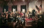 Scene_at_the_Signing_of_the_Constitution_of_the_United_States SOURCE Wikipedia Commons Public Domain