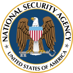 The seal of the U.S. National Security Agency. SOURCE Wikipedia Public Domain