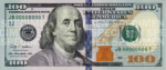 100 US bill croped from USDnotes SOURCE Wikipedia Public Domain