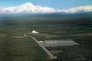 HAARP -High_Frequency_Active_Auroral_Research_Program_site CREDIT U.S. Federal Gov. SOURCE Wikipedia Commons Public Domain