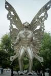 Mothman_statue_2005 CREDIT Snoopywv SOURCE Wikipedia Commons Public Domain