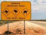 Australia_animal_warning_sign Credit Hossen27 at English Wikipedia SOURCE Wikipedia Commons Public Domain