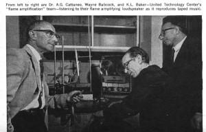 Flaming louldspeaker SOURCE Popular Electronics May 1968