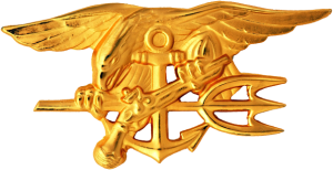 US_Navy_SEALs_insignia SOURCE Wikipedia Commons Public Domain
