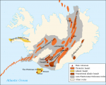 Volcanic_system_of_Iceland-Map- CREDIT Volcanic_system_of_Iceland-Map-fr. Pinpin SOURCE Wikipedia Commons Public Domain