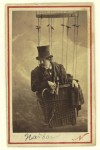 nadar in gondola of Balloon 1862 SOURCE Getty (Public Domain)