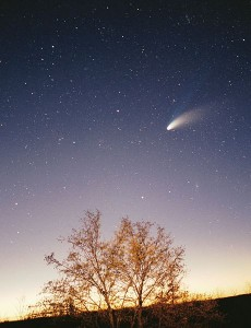 Comet-Hale-Bopp-29-03-1997_hires_adj CREDITPhilipp Salzgeber SOURCE Wikipedia Commons Public Domain