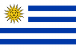 Flag_of_Uruguay. CREDIT Pumbaa80 SOURCE Wikipedia Commons Public Domain