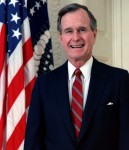 George_H._W._Bush,_President_of_the_United_States,_1989_official_portrait SOURCE Wikipedia Commons Public Domain