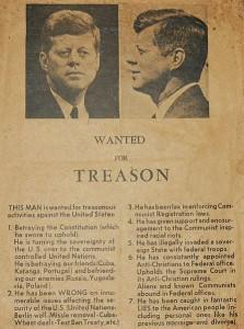 JFK_Wanted_Dallas_1963 SOURCE Wikipedia Commons Public Domain