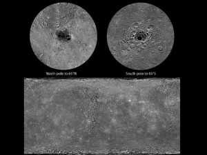 Mercury from messenger-1 SOURCE NASA Public Domain