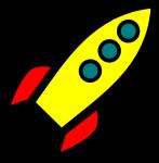 Rocket_icon SOURCE Clker Public Domain