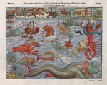 Sea monster-Münster_Thier_2 circa 1544 SOURCE Wuikipedia commons Public Domain