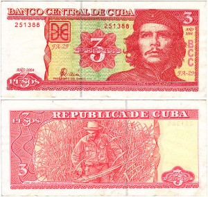 629px-Cuban3Pesos SOURCE Wikipedia Fair Use