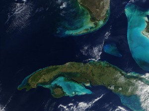 Cuba Florida Straights CREDIT NASA SOURCE Wikipedia Commons Public domain