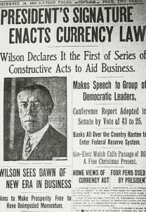 Fed_Reserve-Wilson SOURCE Wikipedia (Public Domain)