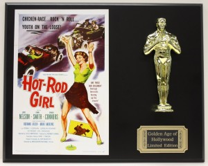 Hot Rod Girl Poster SOURCE Amazon