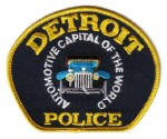 Detroit Police patch SOURCE Wikipedia Fair Use