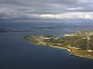 Gitmo_Aerial US government - Guantanamo Bay official Navy website Source Wikipedia Public Domain