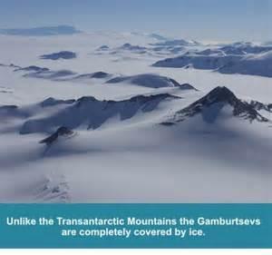 Antarctica gamburtsev Mts - Ice