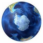 South Pole globe