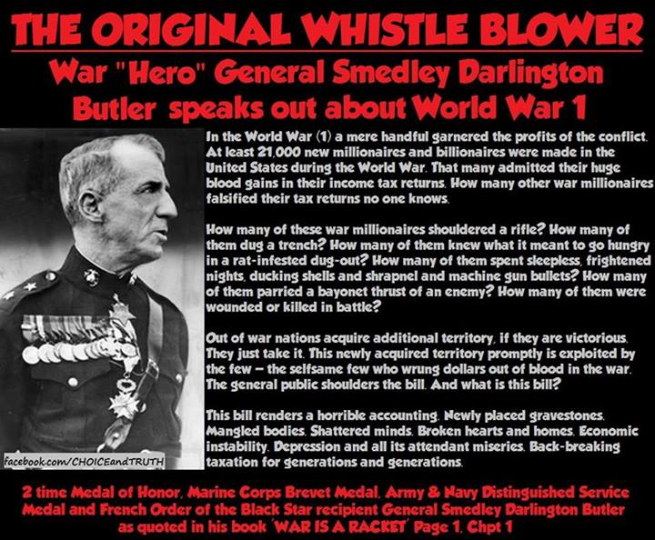 the life of the american hero general smedley butler Smedley butler's life and career epitomize the contradictory nature of american military policy through the first part of this century butler won renown as a marine battlefield hero, campaigning in most of america's foreign military expeditions from 1898 to the late 1920s.